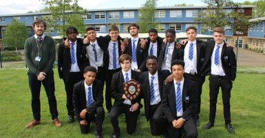 Heathcote Y10 football squad 1