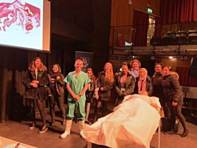 Heathcote Sixth Formers Attend the Living Autopsy!